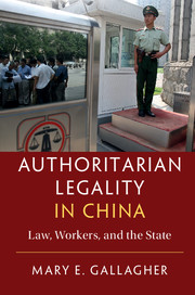 Authoritarian Legality in China
