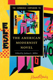 The Cambridge Companion to the American Modernist Novel