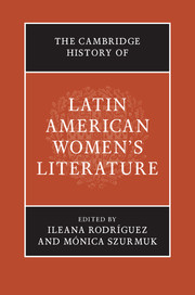 The Cambridge History of Latin American Women's Literature