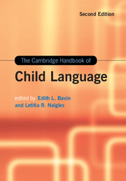 The Cambridge Handbook of Child Language