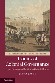 Ironies of Colonial Governance