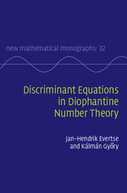 Discriminant Equations in Diophantine Number Theory
