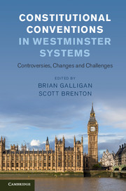 Constitutional Conventions in Westminster Systems