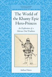 The World of the Khanty Epic Hero-Princes