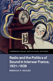 Radio and the Politics of Sound in Interwar France, 1921–1939