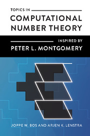 Topics in Computational Number Theory Inspired by Peter L. Montgomery