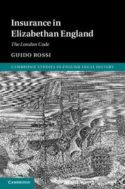 Insurance in Elizabethan England