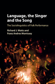 Language, the Singer and the Song