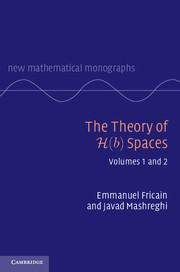 The Theory of H(b) Spaces