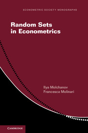 Econometric Society Monographs