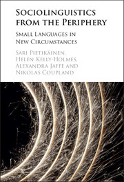Sociolinguistics from the Periphery