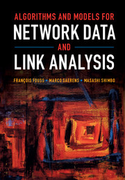 Algorithms and Models for Network Data and Link Analysis