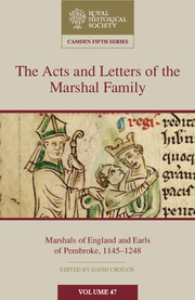 The Acts and Letters of the Marshal Family