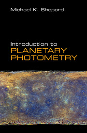 Introduction to Planetary Photometry
