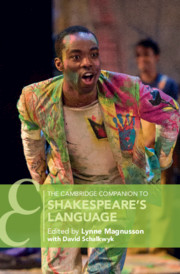The Cambridge Companion to Shakespeare's Language