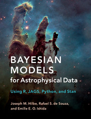 Bayesian models astrophysical data using r jags python and stan |  Statistics for physical sciences and engineering