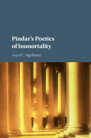 Pindar's Poetics of Immortality