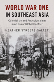 World War One in Southeast Asia