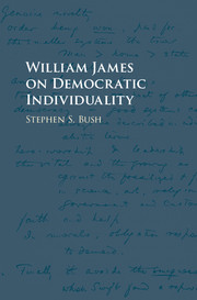 William James on Democratic Individuality