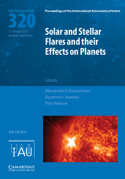 Solar and Stellar Flares and their Effects on Planets (IAU S320)