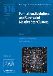 Formation, Evolution, and Survival of Massive Star Clusters (IAU S316)