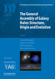 The General Assembly of Galaxy Halos (IAU S317)