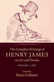The Complete Writings of Henry James on Art and Drama