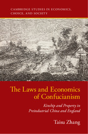 The Laws and Economics of Confucianism