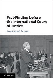 Fact-Finding before the International Court of Justice