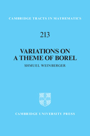 Variations on a Theme of Borel