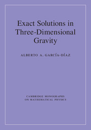 Exact Solutions in Three-Dimensional Gravity