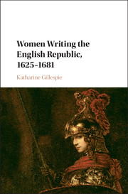 Women Writing the English Republic, 1625–1681