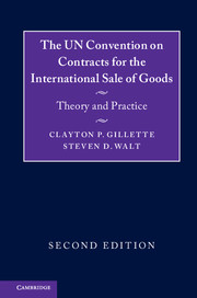 The UN Convention on Contracts for the International Sale of Goods