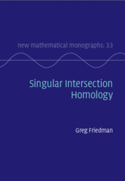 Singular Intersection Homology