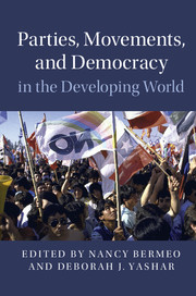 Parties, Movements, and Democracy in the Developing World