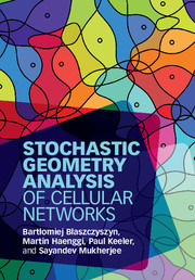 Stochastic Geometry Analysis of Cellular Networks
