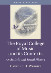 The Royal College of Music and its Contexts