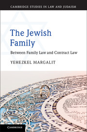 Cambridge Studies in Law and Judaism