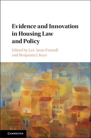 Evidence and Innovation in Housing Law and Policy