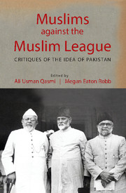 Muslims against the Muslim League