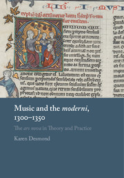 Music and the <I>moderni,</I> 1300–1350