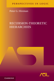 Recursion-Theoretic Hierarchies