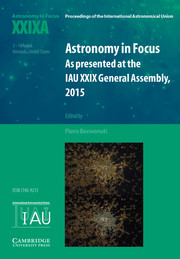 Astronomy in Focus XXIXA