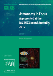 Astronomy in Focus XXIXB