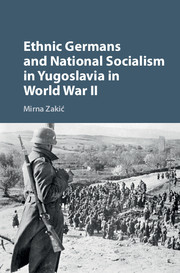 Ethnic Germans and National Socialism in Yugoslavia in World War II