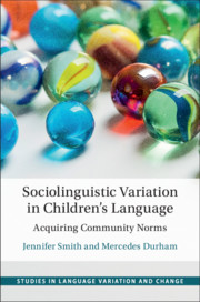 Studies in Language Variation and Change