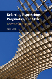 Referring Expressions, Pragmatics, and Style