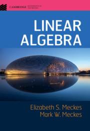 Linear Algebra by Elizabeth S  Meckes