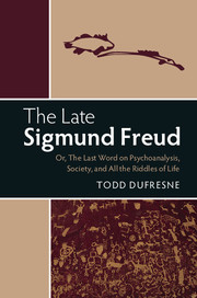 The Late Sigmund Freud