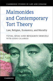 Maimonides and Contemporary Tort Theory